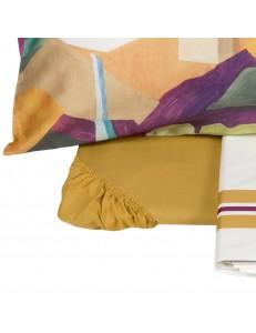 Completo lenzuola letto matrimoniale Tamara Fazzini