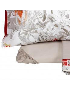 Completo lenzuola letto singolo Safari Fazzini