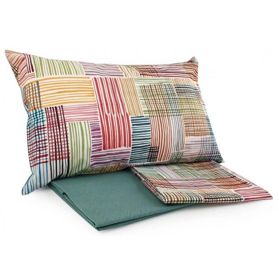Completo lenzuola letto matrimoniale Willis Missoni Home