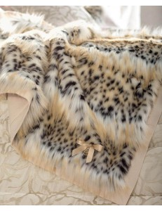 Plaid eco-pelliccia Gardner lince Blumarine Home