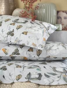 Completo lenzuola letto matrimoniale Natassya Be Blumarine