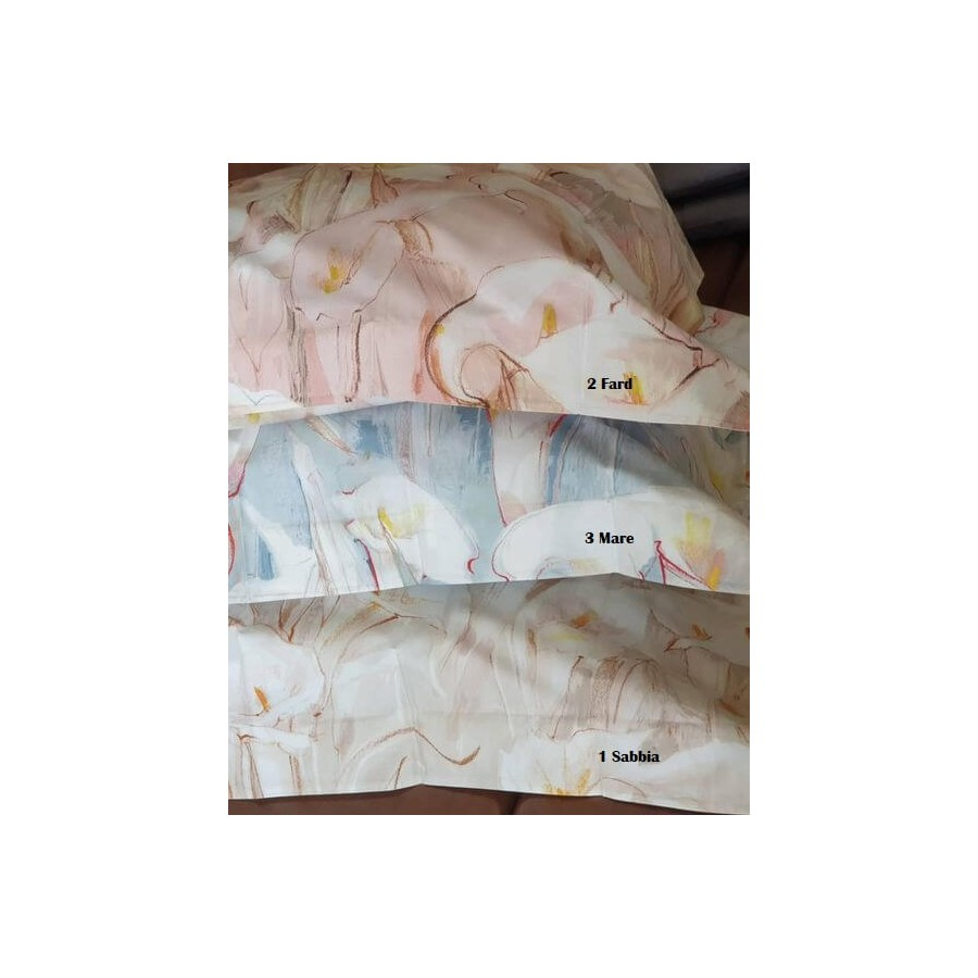 Completo lenzuola letto matrimoniale Callas Svad Dondi