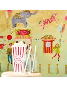 Carta da parati Lifes a Circus Harlequin