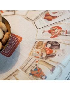 Tovaglia Tarocchi Tessitura Toscana Telerie