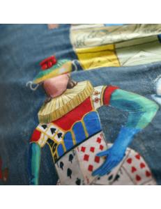 Completo lenzuola Brancaleone Cavalieri Tessitura Toscana Telerie
