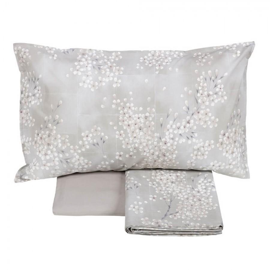 Completo lenzuola letto matrimoniale Kimono Fazzini