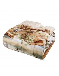 Trapunta invernale letto singolo Africa Fazzini